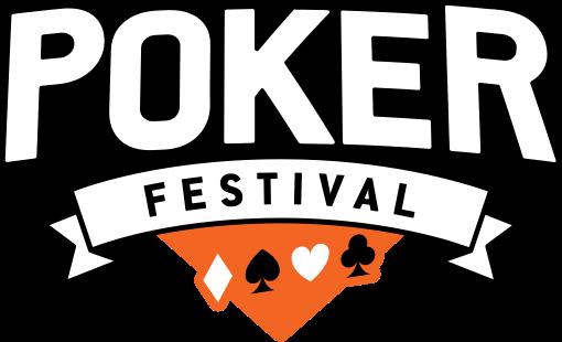 Poker festival logo
